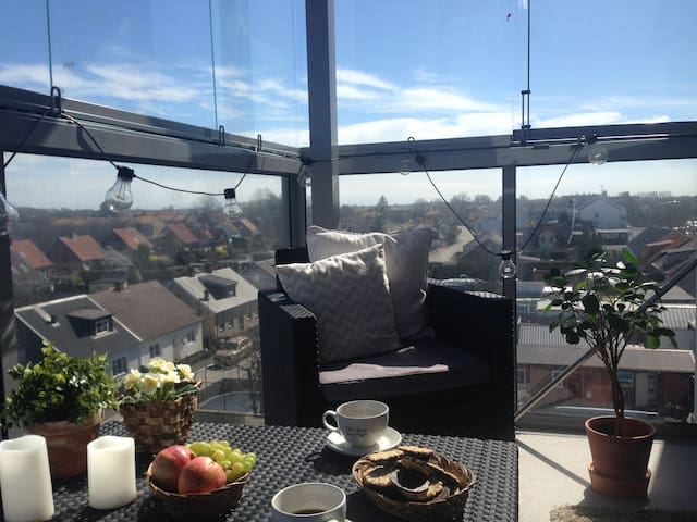 Kids-friendly apartment with a view - Vellinge - Flat