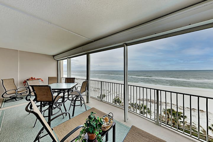Glorious Gulf-View Balcony at Regency Isle | Pools