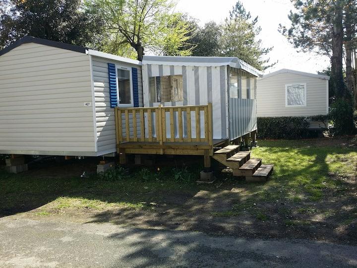 Mobil home neuf sur Camping 4* Saint Jean De Monts
