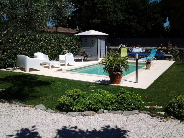 Studio indépendant dans villa Carcassonne