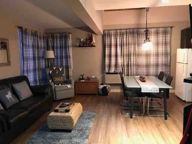Mont Tremblant La Chouette Condo at foothill
