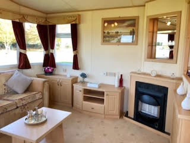 8 berth family caravan in Walton on the Naze