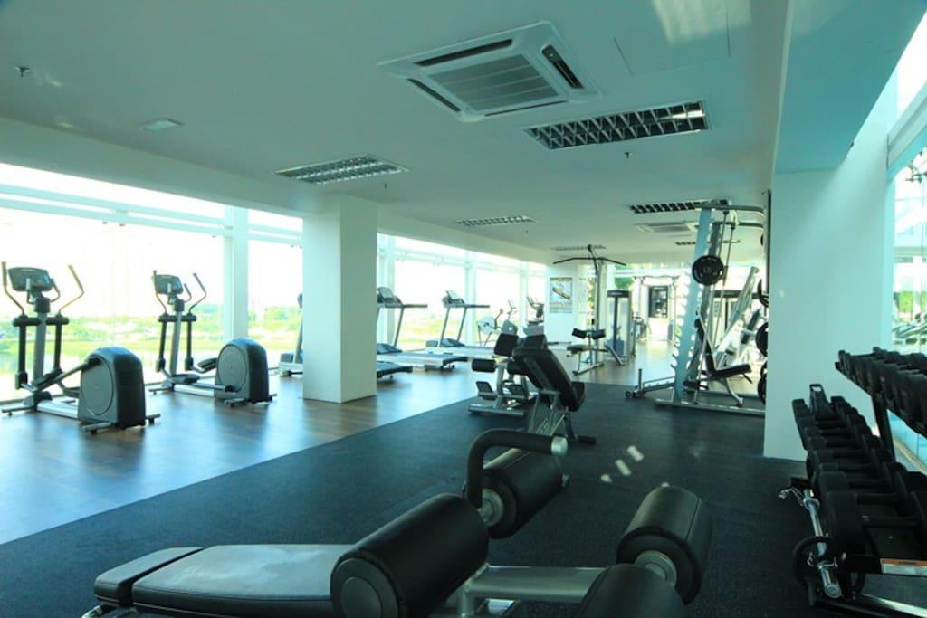Gym are well maintained