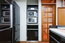 Kitchen Microwave oven, oven range