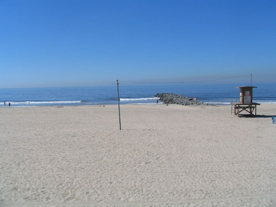 Patio View of the Beach and Ocean