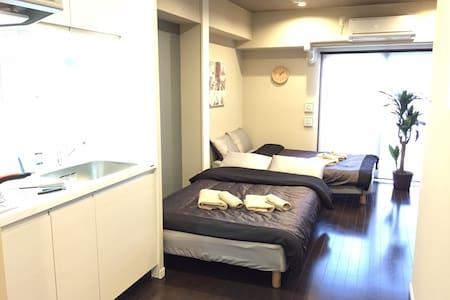 NEW Built! Close to Namba  + Wi-Fi - Naniwa-ku, Osaka-shi,  - Appartamento