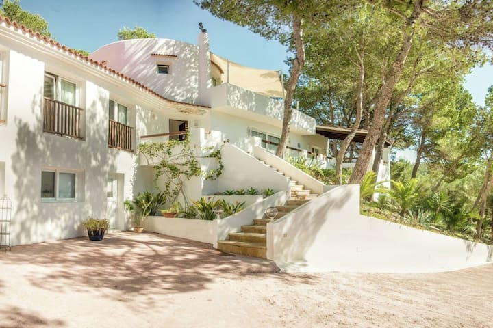 Stunning, spacious villa within walking distance of the charming village of San Carlos