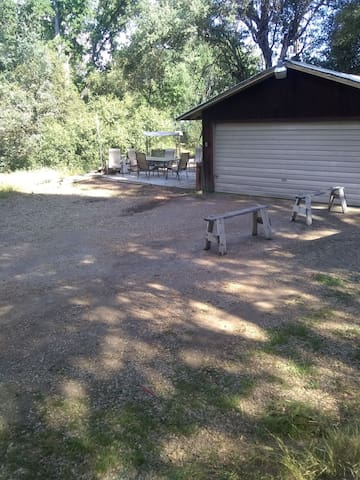 RV Site- water/electric hook ups, picnic area
