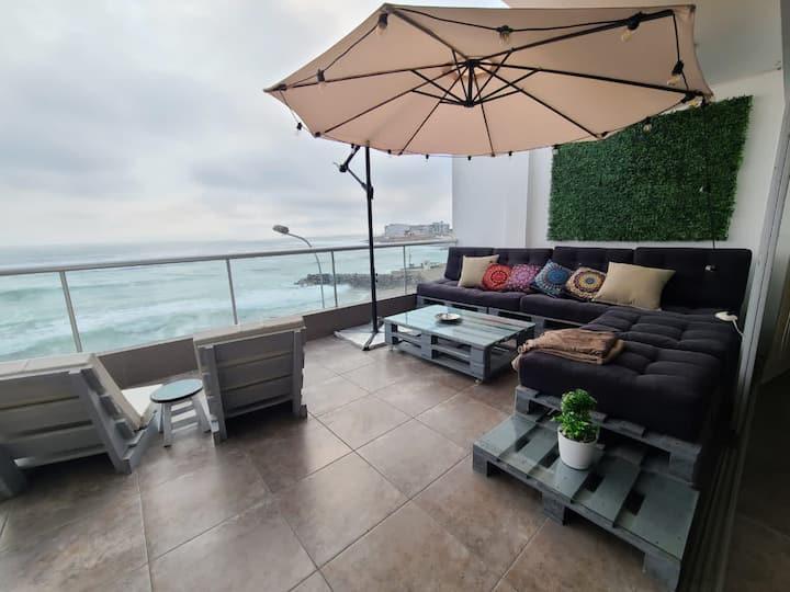 Beach House - Ocean View 4 bed 3f.bath