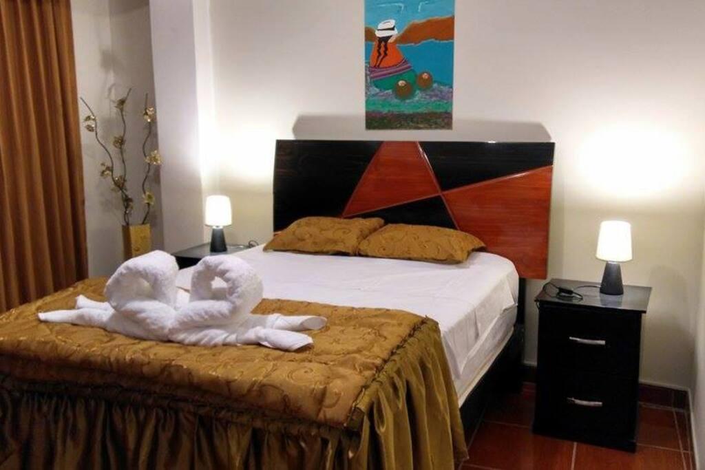 Perfecta para parejas que desean hospedarse en Lima. Para nosotros que el cliente se sienta a gusto y cómodo, es nuestra principal preocupación.