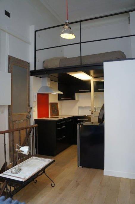 cuisine et mezzanine
