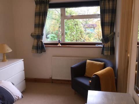 A lovely single room with on suite