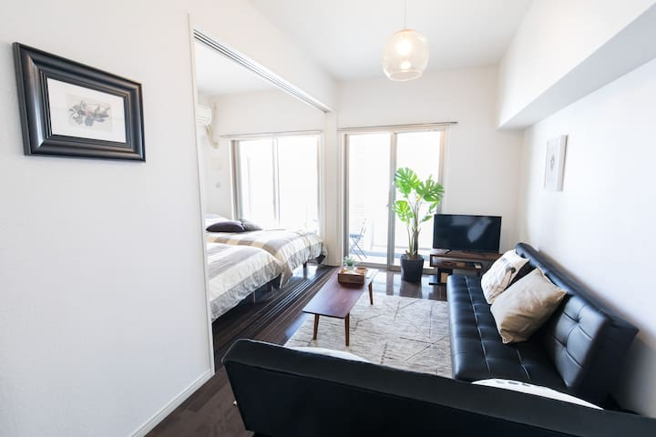 Sunny Spacious Flat for groups and families : )