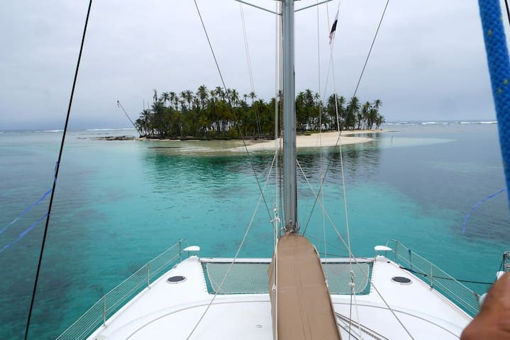 San Blas Catamaran : all inclusive private service