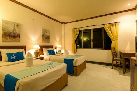 (T2) Standard Twin Bed Room - Patong Kathu - Guesthouse