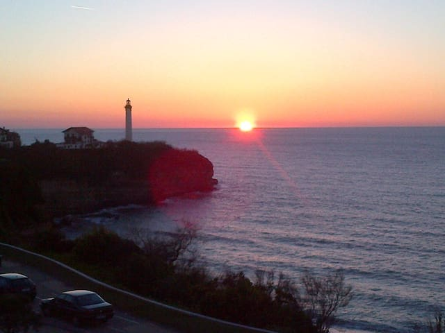 Appartement Mer et Golf, vue mer/phare Biarritz