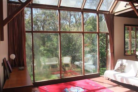 Sun filled house among the trees single room - Blackheath - Talo