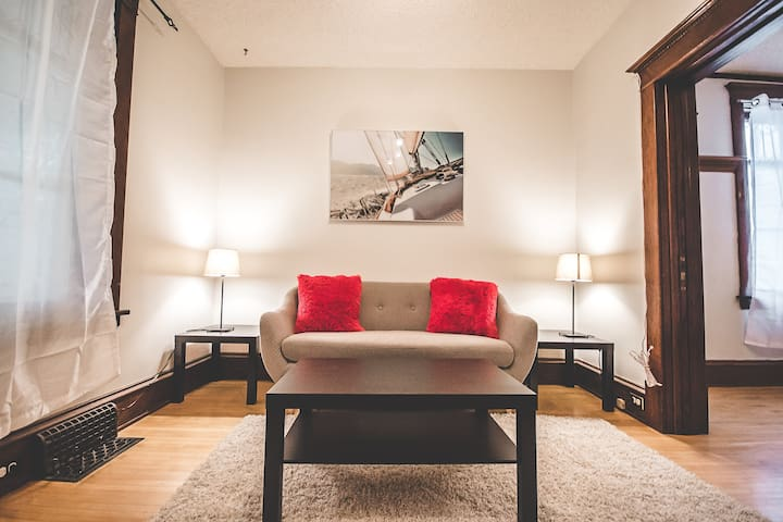 2 BR near dwtwn Wpg. Ask about long term stay.