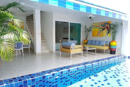 3 Beds duplex with private pool at Bang Por beach - Ko Samui