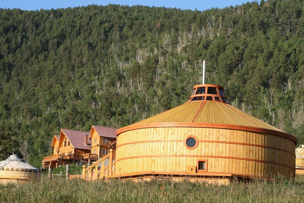 Gers available year round in the beautiful Mongolian countryside!