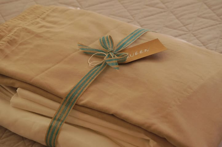 Fresh Bed Linen Available For $10 A Bed Set To Guests