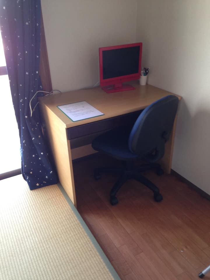 student apartment in a quiet residential area
