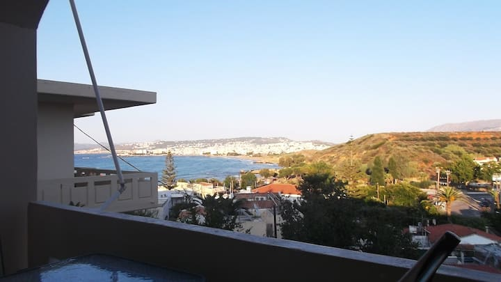 Modern seaside flat 4 guests(Golden Beach,Chania)