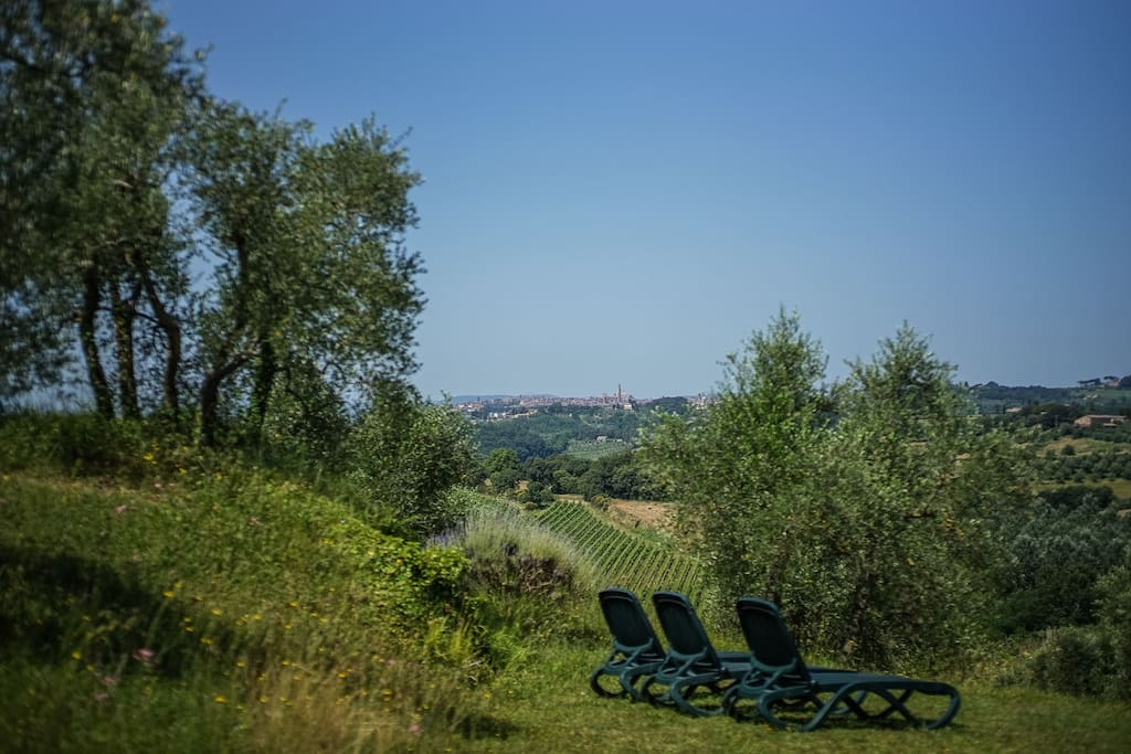 Your utterly private Siena look-out sundeck chairs