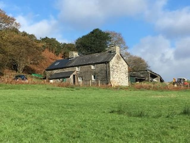 Very beautiful, very basic,  remote farmhouse.