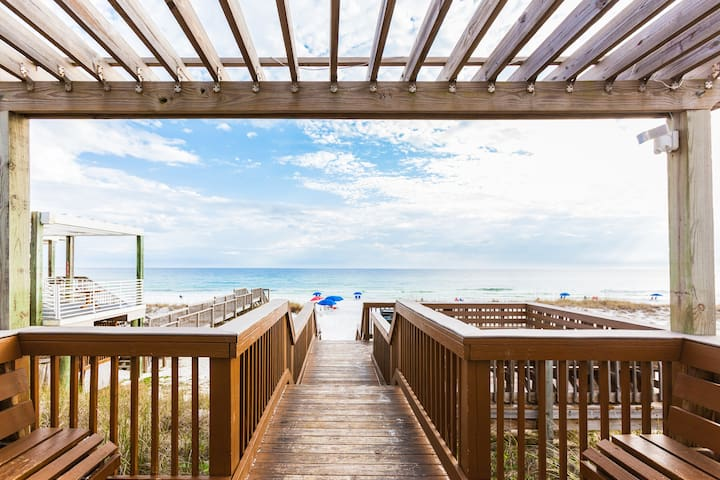 You'll love living just steps from the beach!