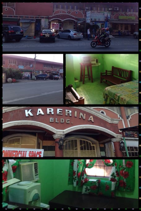 Karerina Bldg along Sumulong hiway Antipolo city rizal, 24 hrs access to transportation by Jeep tricycle , Uber , grab taxi