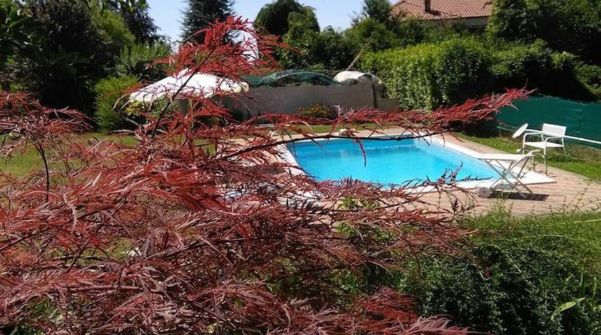 [Cam.Deluxe] B&B*** Villa con giardino e piscina