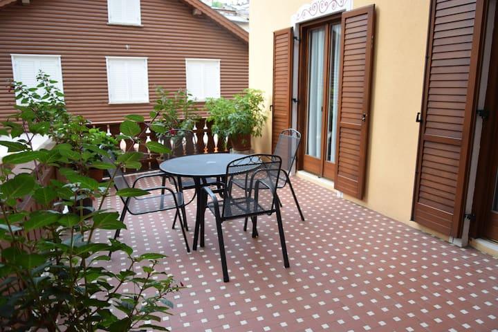Centro storico appartamento con terrazzo