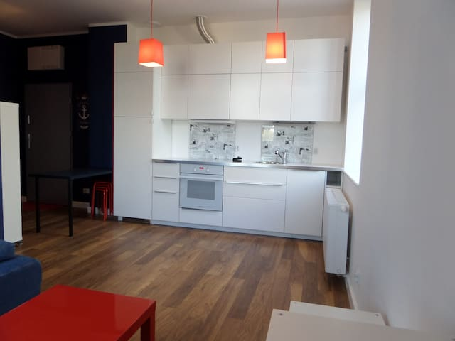 BLUE MARINERO Apartment Szczecin/ Stettin Center