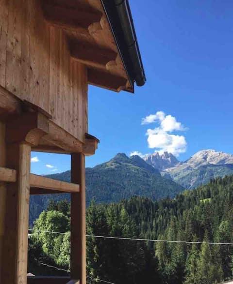 New chalet facing Pale di S.Martino Dolomiti