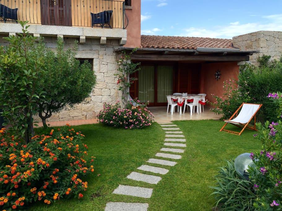 Accogliente villetta con giardino case in affitto a san - Case con giardino in affitto ...