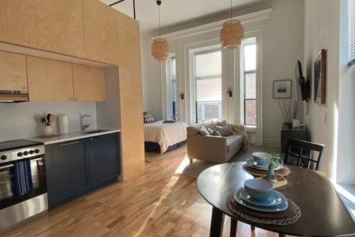 Historic Lofts  - Walk to Yale - Includes office