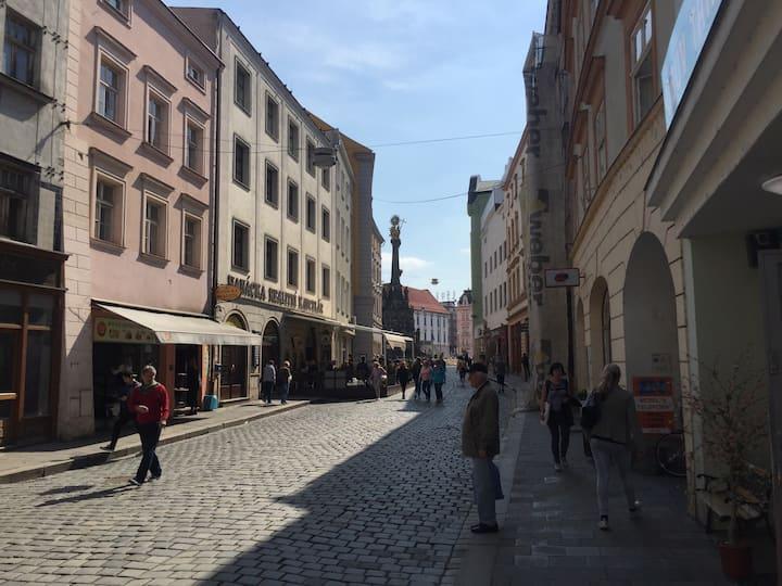 Luxury Studio Apartment in Olomouc Old Town Centre