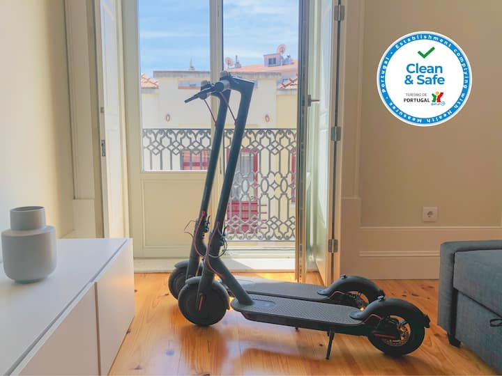 CL Freixo I Apartment With Electric Scooters