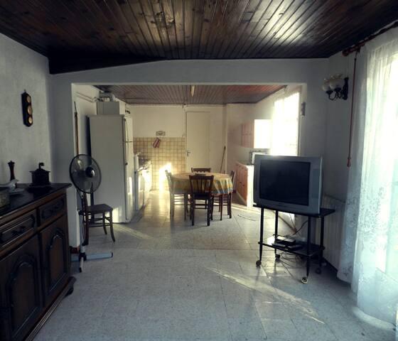 Maison de campagne a collias - Collias