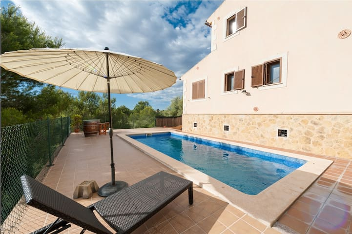 Magrana - villa with private pool in Cala Anguila - Manacor - Dom