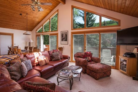 Eagle Vail Duplex, Comfortable for Big Groups or Multiple Families, Close to Vail & Beaver Creek! - Eagle Vail