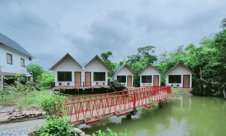 An amazing Ha Giang wings bungalow