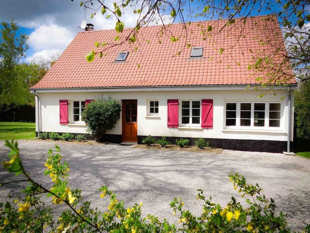 Les Tilleuls large group / family holiday home.