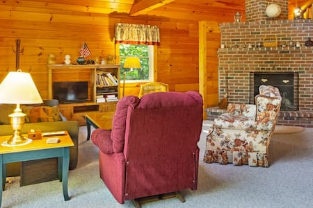 Retreat w/ dock & stunning lake views, only 45 minutes from Bar Harbor