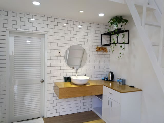 White Room with attic No2- TeeDee -modern&stylish