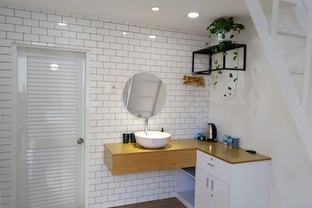 White Room with attic No2- TeeDee -modern&stylish