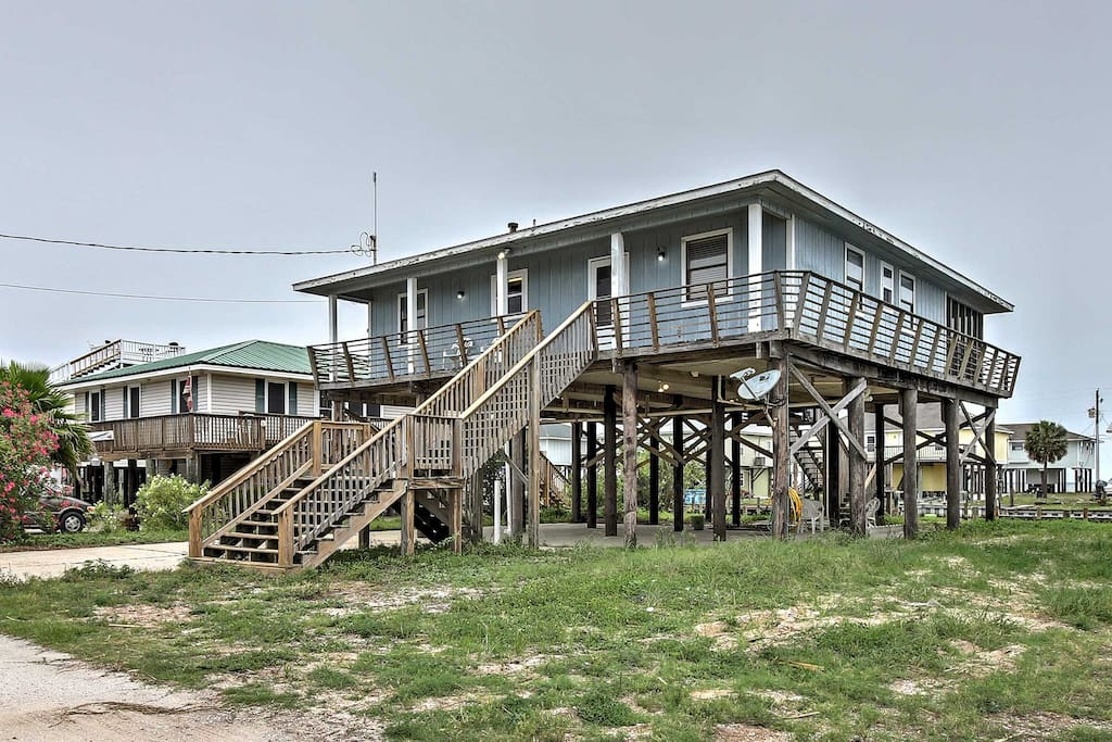 new 4br dauphin island home w club access dock houses for rent in dauphin island alabama. Black Bedroom Furniture Sets. Home Design Ideas