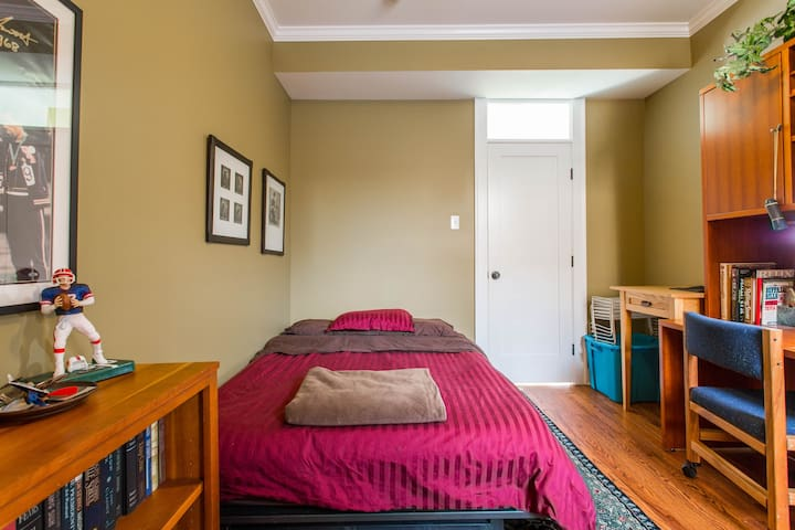 Your Bedroom and door to your private full bathroom