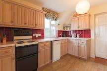 The second kitchen - in the annex